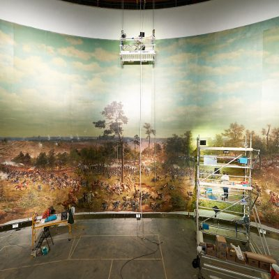 Atlanta History Center Unveils Restored 1886 Cyclorama Depicting 1864 Battle of Atlanta