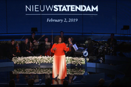 Holland America Line Celebrates Dedication of Nieuw Statendam with O-Mazing Ceremony Featuring Godmother Oprah Winfrey