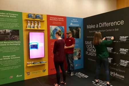 SC Johnson to Launch First-Ever 100% Recycled Ocean Plastic Bottle in a Major Home Cleaning Brand