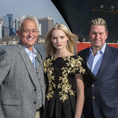Fashion Legends Badgley Mischka to Headline Cunard's Transatlantic Fashion Week in 2020