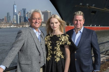 Fashion Legends Badgley Mischka to Headline Cunard's Transatlantic Fashion Week in 2020