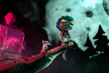 Initial Animation Produced by HTC VIVE Gloomy Eyes, EP1, The Encounter Won the Best Storytelling Award at SXSW Film Festival