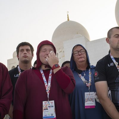 New Zealand Special Olympics Athletes Solidarity Amid Grief at Sheikh Zayed Grand Mosque