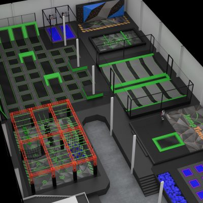 World's First Neon Themed Trampoline Park Coming to Bozeman, Montana