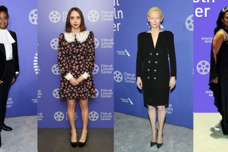 Red Carpet Fashion at Film Society of Lincoln Center 50th Anniversary Gala