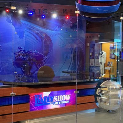 """Seriously Funny: From the Desk of The Daily Show with Jon Stewart"" Exhibit Now Open"