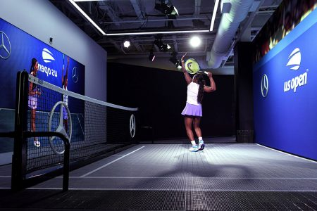 Mercedes-Benz Debuts New Augmented Reality Technology at 2019 U.S. Open