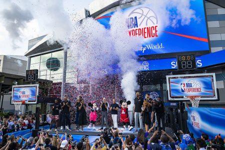 NBA Experience Grand Opening Is A Slam Dunk At Walt Disney World Resort