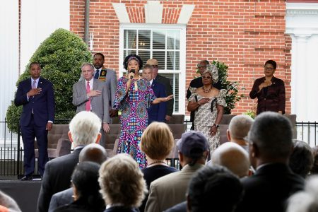 National And World Leaders Convene In Virginia To Commemorate The 400th Anniversary Of The First African Landing In English North America