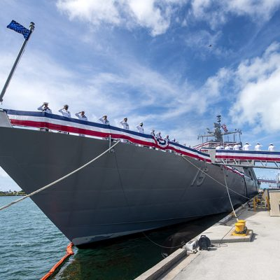 U.S. Navy Commissions Littoral Combat Ship 15 (Billings)