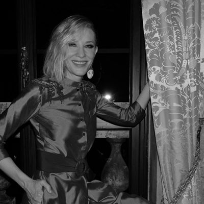 Armani beauty Honors Cinematography in the Presence of Cate Blanchett During the Venice Film Festival