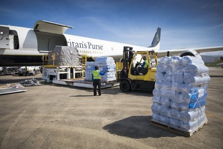 Samaritan's Purse Airlifts Critical Relief To Hurricane-Battered Bahamas