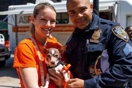 ASPCA and NYPD Celebrate Five Years of Fighting Animal Abuse and Rescuing Victims Across NYC