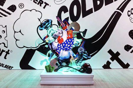 British Pop Artist Philip Colbert's First U.S. Solo Show & Premiere of Simon De Pury Collaboration