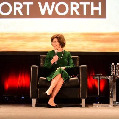 Former First Lady Laura Bush And NBC's Jenna Hager Wow ASI Fort Worth Audience