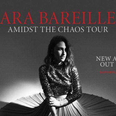 Sara Bareilles Announces Her Much Anticipated Amidst The Chaos Tour