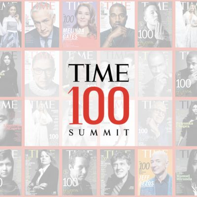 TIME Launches Live Event Extension of the Annual TIME 100 List of the World's Most Influential People