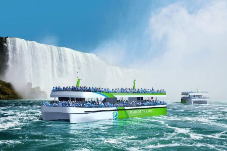 Maid of the Mist leads the way with first all-electric vessels built in the United States