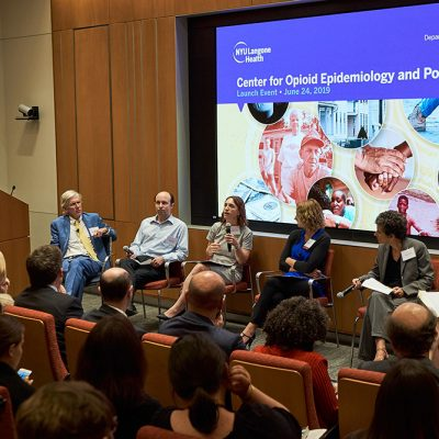 NYU Langone Health Launches New Center to Study the Drivers and Consequences of the National Opioid Epidemic