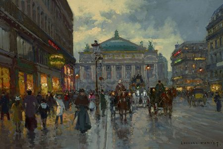 Rare Pair of Edouard Cortes Paintings Surface and Sell