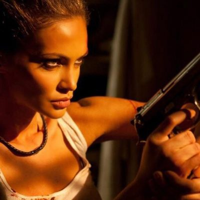 """Guns, car chases, and a thrilling female lead – Gia Skova shows off her many talents in her new independent film """"The Serpent"""""""
