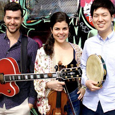 Julia Bomfim Trio and the Reencontro project