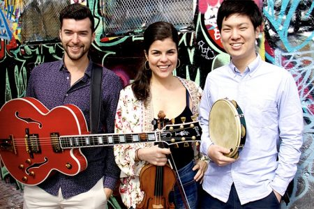 Julia Bomfim Trio and the Reencontro project