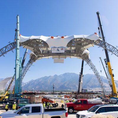 U2's Famous 360° Tour Stage Permanently Installed at Utah's Loveland Living Planet Aquarium