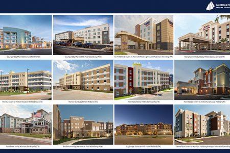 AHIP Announces Acquisition of 12 Premium Branded Hotels for $191 Million