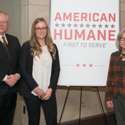 American Humane, Farmers, and Leading Food Organizations Go to Capitol Hill to Urge Americans to Set a Humane Table for the Holidays and Support Humane Farm Practices