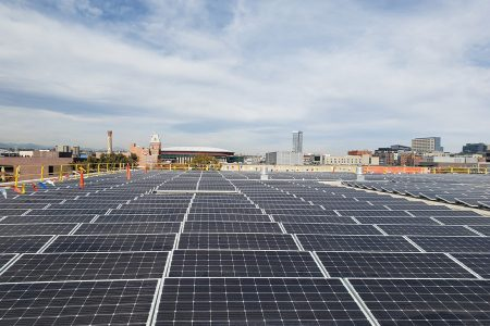 Auraria Campus Installs Largest Rooftop Solar Array in Downtown Denver