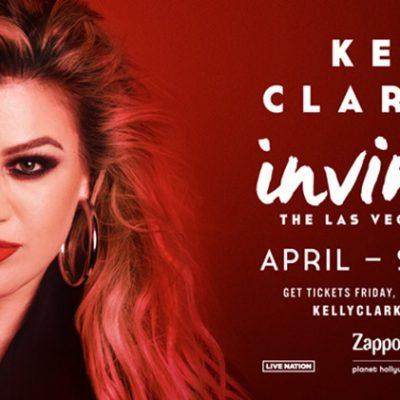 "Kelly Clarkson Announces Las Vegas Residency ""Kelly Clarkson: Invincible"""