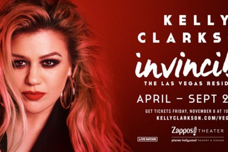 "Kelly Clarkson Announces Las Vegas Residency ""Kelly Clarkson: Invincible"""