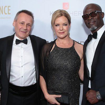 Lupita Nyong'o Honored at WildAid Gala with Special Guest Djimon Hounsou