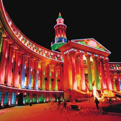 """New, Record-Setting """"Mile High Tree"""" Anchors Denver's Mile High Holidays Festivities"""