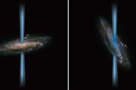 Black Hole or Newborn Stars? SOFIA Finds Galactic Puzzle