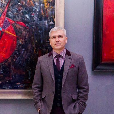 """Books and Writing Rituals"" – Robert McIntosh Interviews Artist Gheorghe Virtosu"