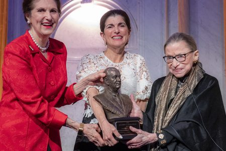 U.S. Supreme Court Justice Ruth Bader Ginsburg Received LBJ Liberty & Justice for All Award