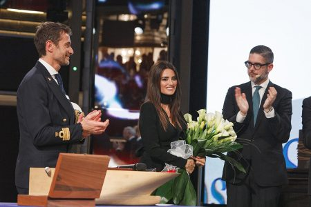 Penélope Cruz Stars as Godmother at Naming Ceremony for Costa Cruises' New Flagship Vessel