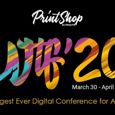 Designhill Announces WTF'20 – A Global 3-day Digital Conference for Artists