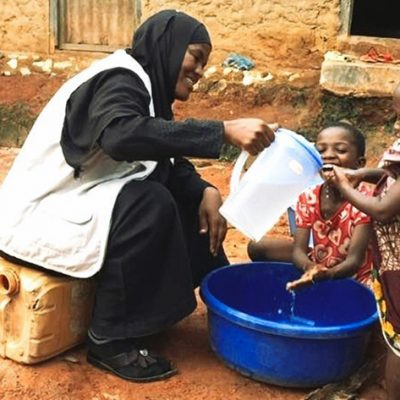 Hygiene Kits Provided to the Most Vulnerable During Covid-19 Crisis on World Water Day