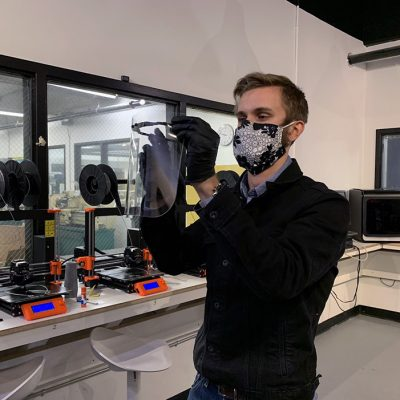 Academy of Art University Students Use 3D Technology to Produce Face Shields for Front-line Workers