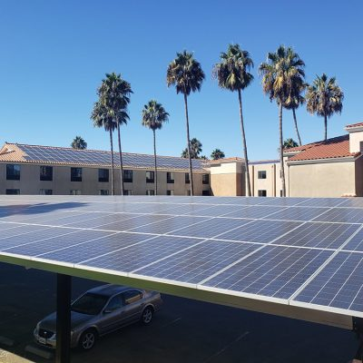 Amped Solutions Secures Institutional Financing for Solar PV Plus Storage Portfolio Across Privately Held Hotel Properties in California