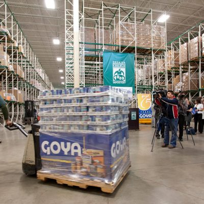 Goya Foods Donates Over 200,000 Pounds of Food and Over 20,000 Masks Nationwide During COVID-19 Pandemic