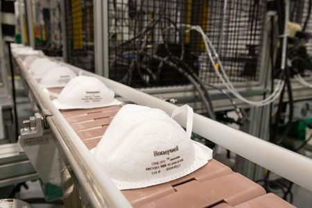Honeywell Begins Production Of N95 Face Masks In Rhode Island