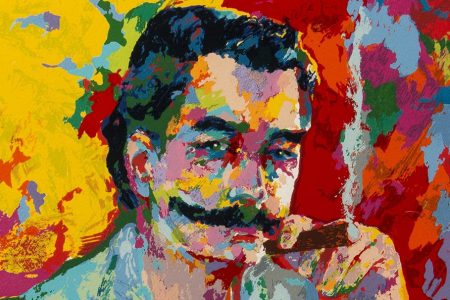 Battle of the Mustache: And the Winner Is… LeRoy Neiman