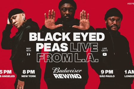 Budweiser Rewind Launches This Saturday, May 16 With Black Eyed Peas