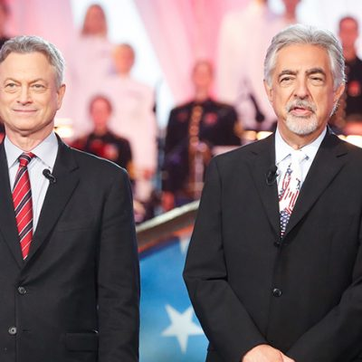Joe Mantegna And Gary Sinise Host A Special Presentation Of PBS' National Memorial Day Concert: America's Night Of Remembrance