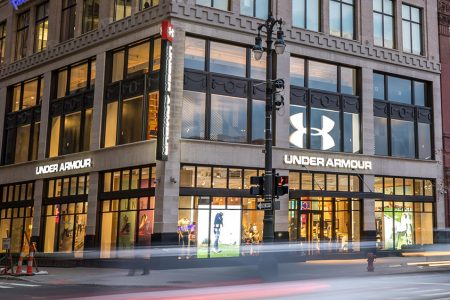 Under Armour Phased Store Reopenings in North America