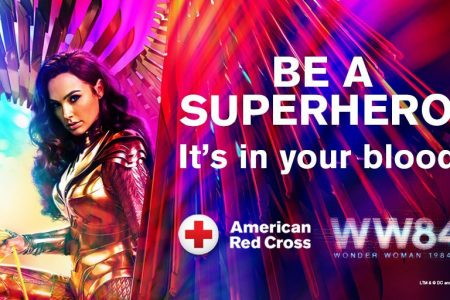 Red Cross Joins Forces With WONDER WOMAN 1984 to Save the Day for Patients in Need
